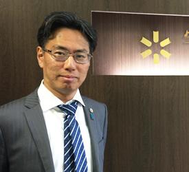 宇田代表弁護士の写真